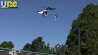 Blade mSR flown outside in light gusty wind
