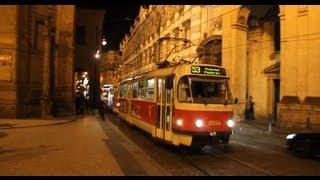 Tram Prague at Křižovnická (2012)
