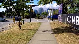 Walking in Vancouver - Cambie Street to Marine Drive - Canada Walk - City Tour