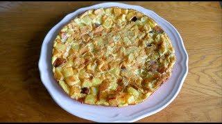 Yumurtalı Patates Nasıl Yapılır (Patatesli Yumurtalı Omlet Tarifi)