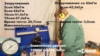 Тест: пневматический гайковерт Force 82546