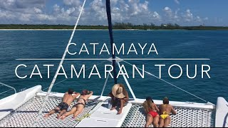 Get out on the water with Catamaya catamaran tour!