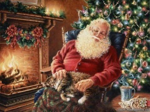 2 Hours of Traditional Old CHRISTMAS CAROLS & MUSIC with Thomas Kinkade & CHRISTMAS Light Displays