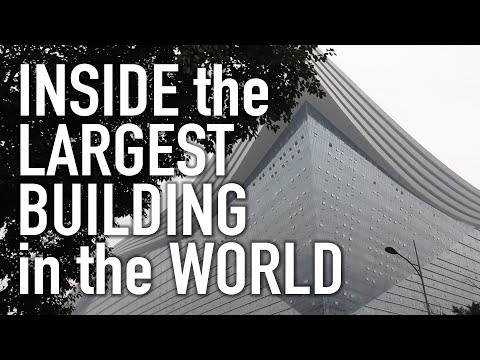 Let's Go For A Walk Inside the Largest Building in the World