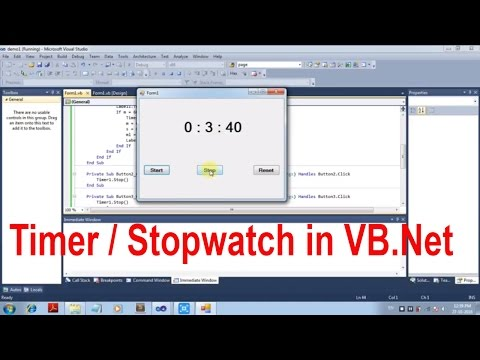 Cara Membuat Timer Pada Visual Basic