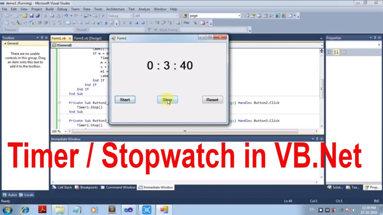 java how to make timer