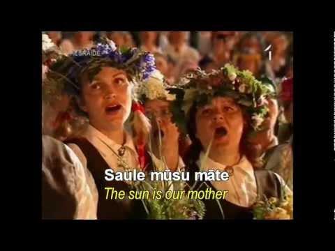 "Saule, Perkons, Daugava ""Sun, Thunder, Daugava"""