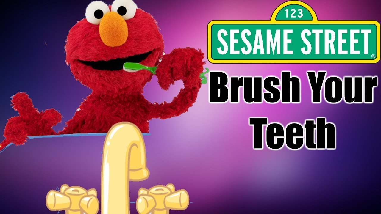 Sesame Street Brush Your Teeth Bruno Mars Parody Hygiene Funny Kids Videos Youtube