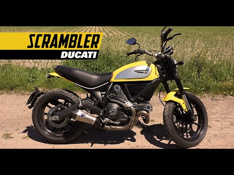 2015 ducati scrambler icon test review with termignoni exhaust