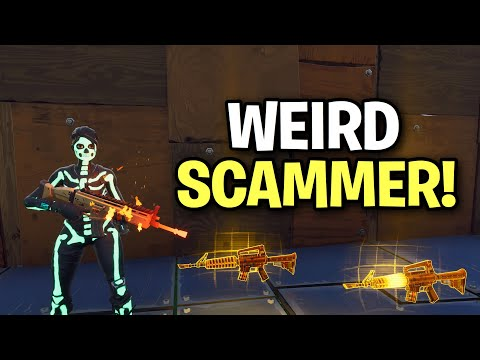 3% of scammers don't know this scam! 🤫 (Scammer Get Scammed) Fortnite Save The World