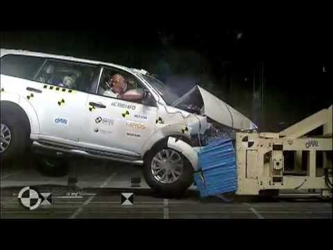 ASEAN NCAP - Mitsubishi Pajero Sport
