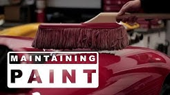 Using A California Car Duster & Ultima Waterless Wash Properly To Avoid Swirls & Scratches In Paint