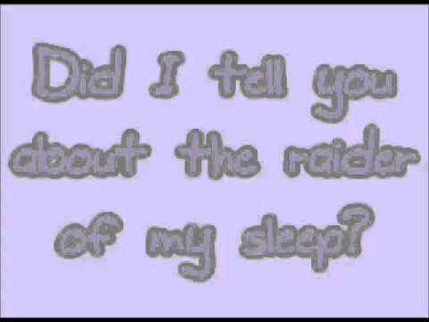 Una Healy - Raider Of My Sleep (Lyrics!)