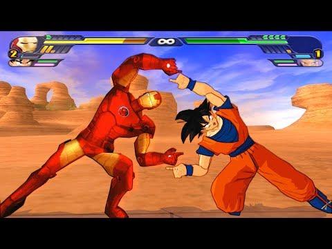 IronMan and Goku FUSION | Iron Goku vs Thanos| DBZ Tenkaichi 3 (MOD)