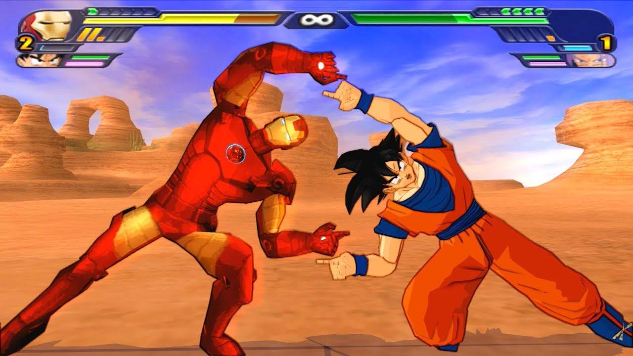 Goku Vs Thanos: IronMan And Goku FUSION