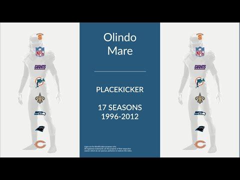 Olindo Mare: Football Placekicker