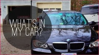 What's in my Car + Commuter Essentials