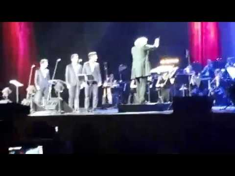 Il Volo in Moscow - first part of the concert - Notte Magica Tour 18/06/2017