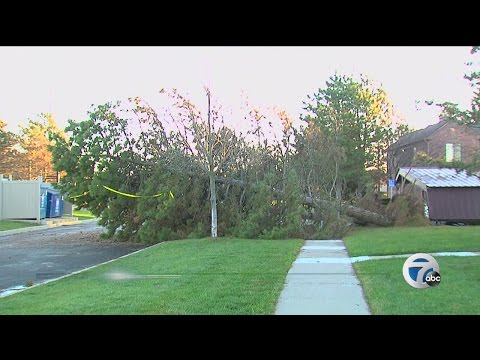 National Weather Service confirms a tornado hit Canton, Michigan