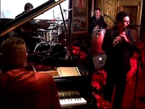 """Chuchito Valdes y René Lorente en Cubaocho. Descarga # 2 """"Del Latin jazz al Son""""."""