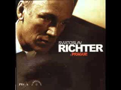 Richter - Chopin - Ballade n. 2, op.38 in F major - Live Praga