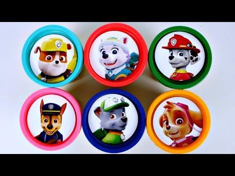 Learn Colors Massinha de Modelar Play Doh PATRULHA CANINA Surpresas Canal KidsToyShow