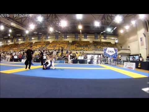 Oscar Cum (Rilion Gracie) vr John Ramos (Carlson Gracie) Semifinal Miami Fall Open 2016