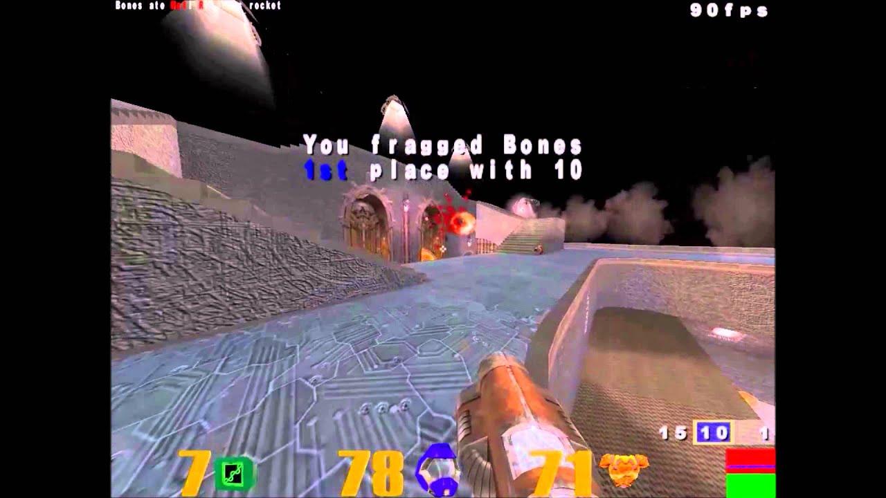 Quake III Arena - Precise Rocket Launcher Aim