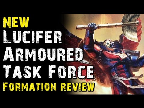 NEW 40k Blood Angels Review Ep 3 - Lucifer Armored Task Force