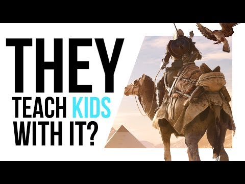 Why kids play ASSASSIN'S CREED at SCHOOL NOW!