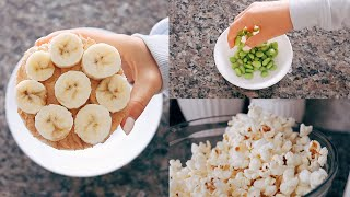 healthy snack ideas!! (tasty as heck)
