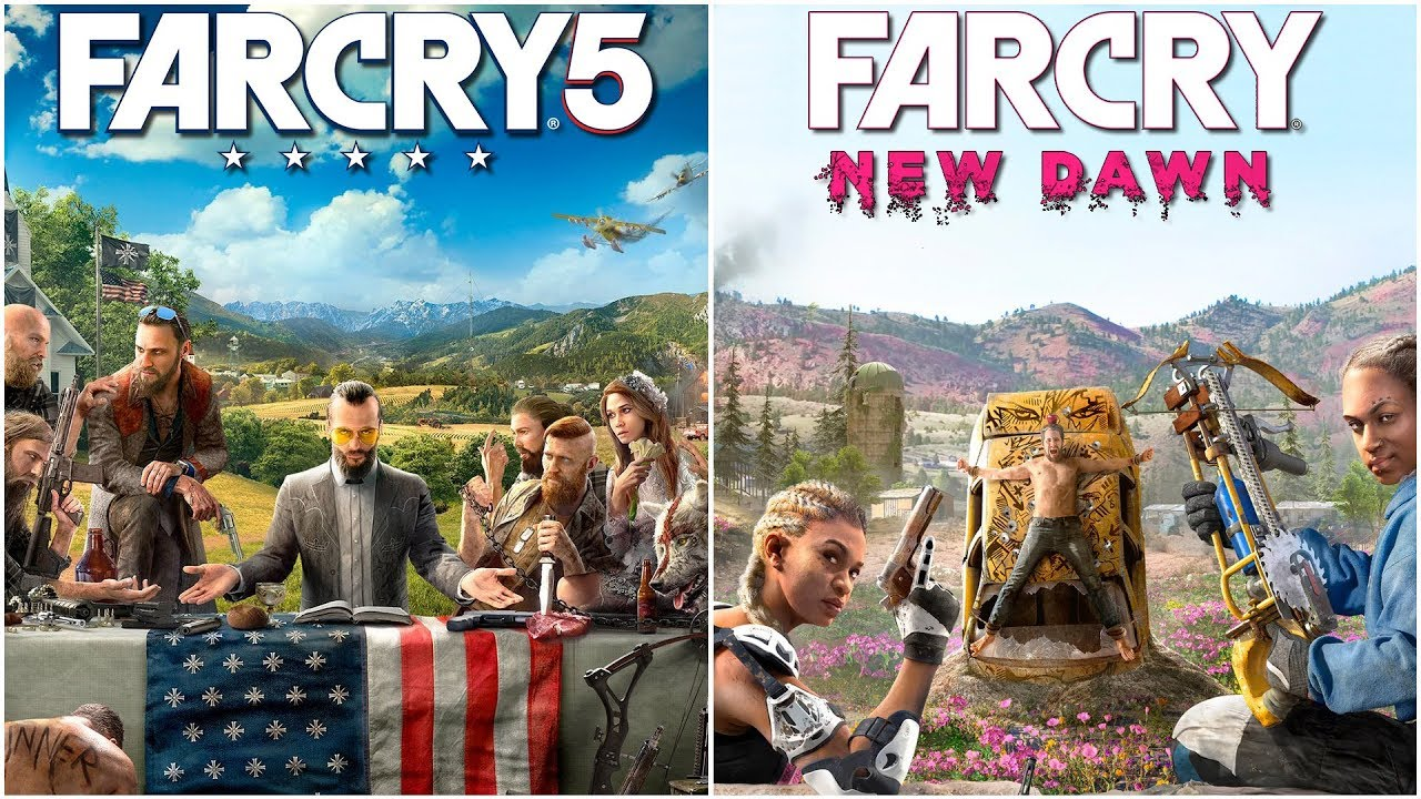 Far Cry 5 Vs Far Cry New Dawn Key Locations Compared Youtube
