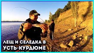 Усть-Курдюм, Скала . Рыбалка на подлещика.