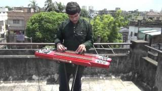 Ei Sundor Swarnali Sandhyay On Instrumental ElectricSteelGuitar By Pramit Das Film Hospital1960 Geet