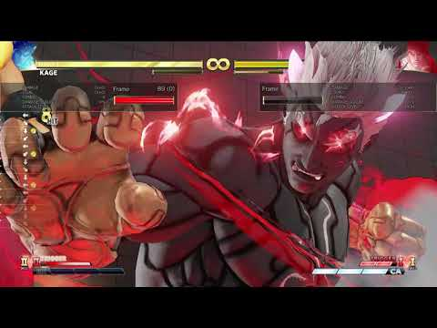 New Combo For KAGE? SFV AE
