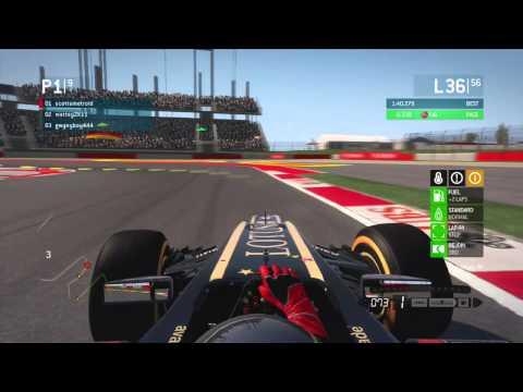 F1 2013 XML USA Race