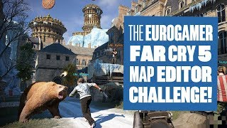 The Far Cry 5 Map Editor Challenge - Far Cry 5 Map Editor Gameplay