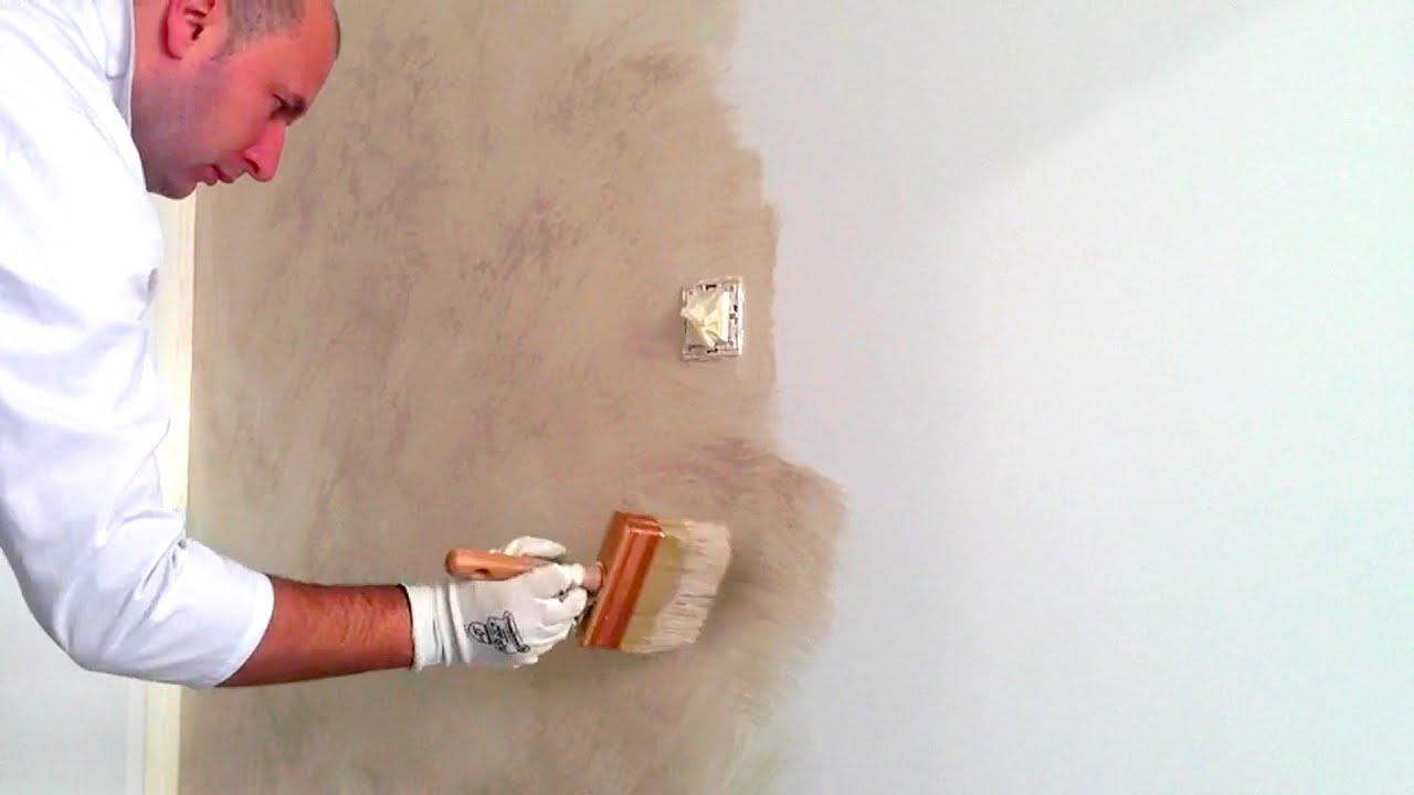 Peinture A Effet Sable Youtube