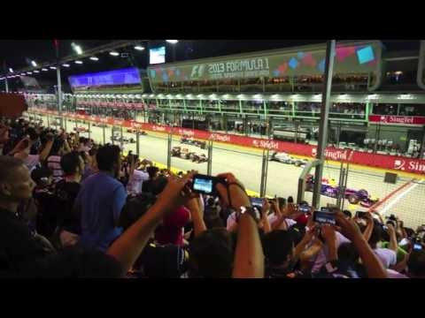 【F1】Formula 1 2013 V8 PURE SOUND - SINGAPORE GP