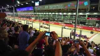 2013 F1 Singapore Grand Prix - V8 PURE SOUND [HD]