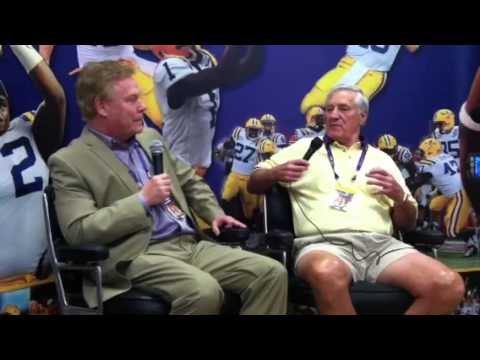 Jim Taylor reminisces about LSU and pro playing days (1-of-2)