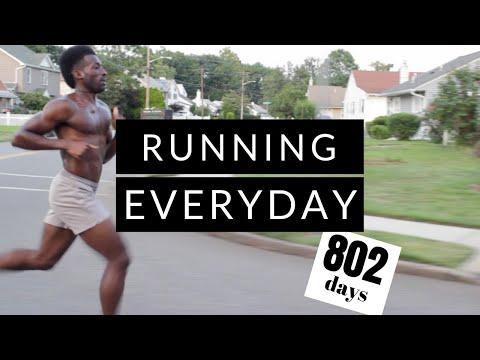 running everyday | 802 day running update | summer running