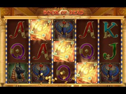 Игровой автомат Book Of Dead (Play N Go) - бонусная игра, демо-режим ⭐⭐⭐⭐⭐