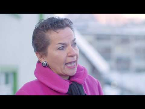 Hub Culture Davos 2017 - Christiana Figueres,  Executive Secretary at UNFCCC