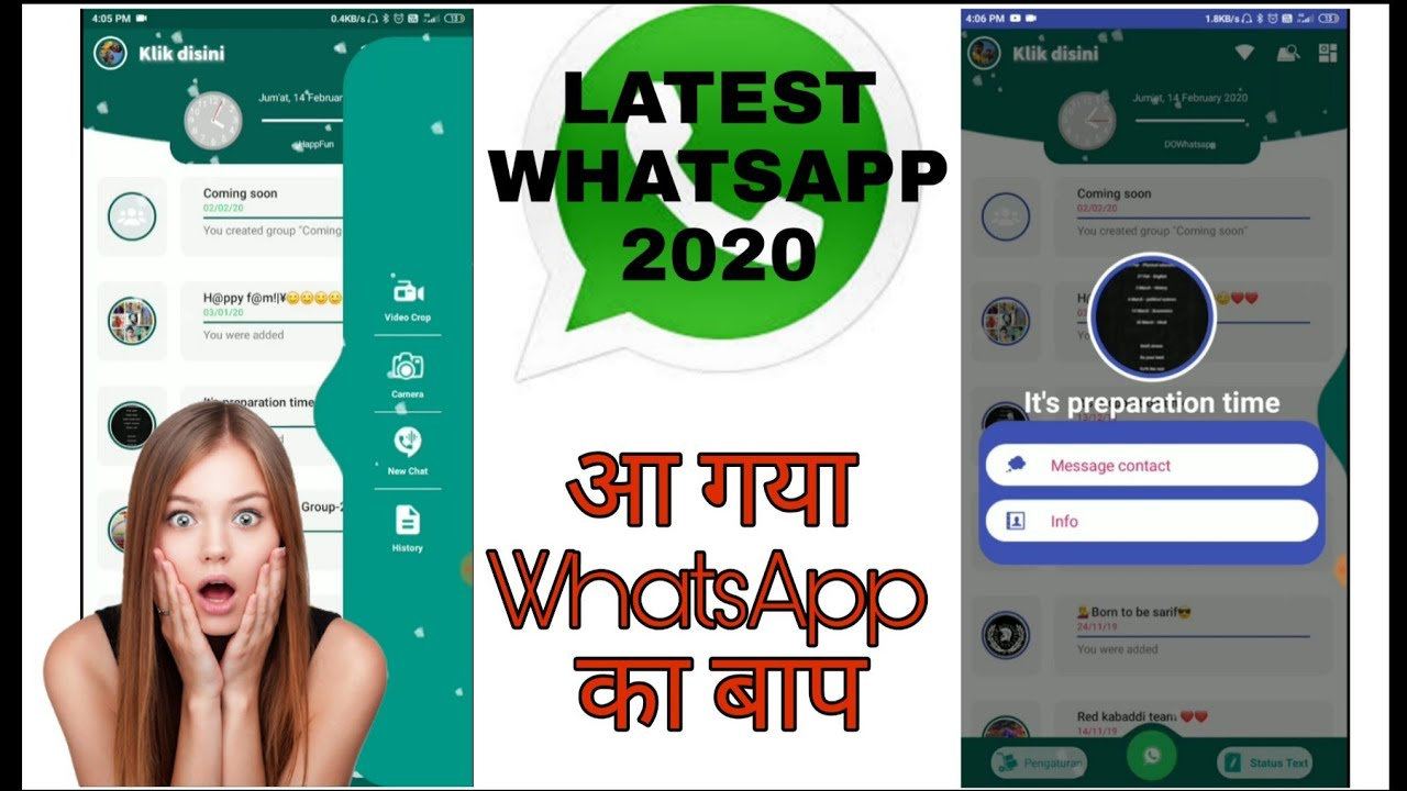 Latest WhatsApp 2020 with lots of New Features | WhatsApp | Tech Street | Trending Tech Is here |