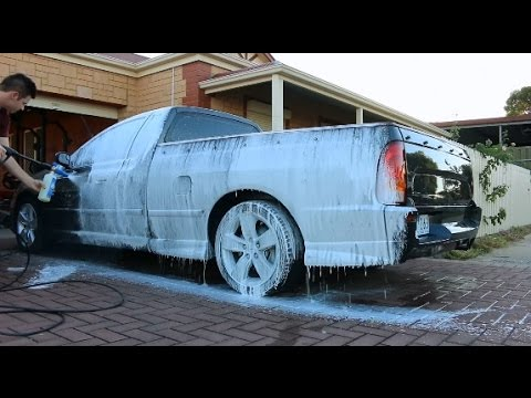 Touchless & Touch Car Wash With Foamee Snow Foam Cannon
