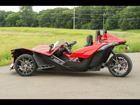 I Drive the Polaris Slingshot Deluxe Trike