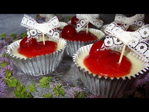 Cupcakes de Crema de Limón/Lemon Posset SIN GLUTEN! SIN HORNO!