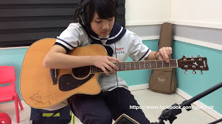 2015 01 08 - 學生練習 - Andy McKee - Guitar - Drifting (COVER)