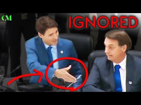 Trudeau IGNORED AGAIN